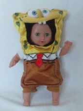 Adorable Big rare Talking & Crying 'Spongebob Squarepants' Baby Doll